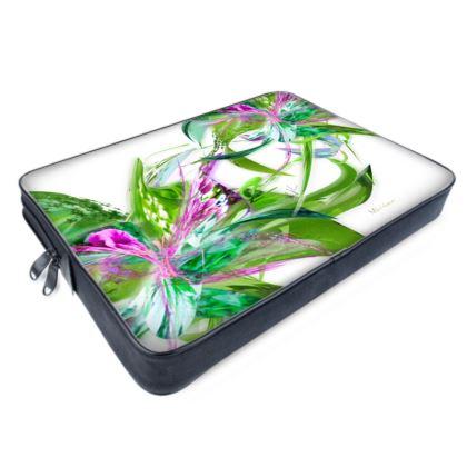 Laptop bags - Datorväska - Summer flower white