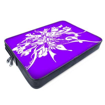 Laptop Bags - Datorväska - Ink strong lila