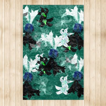 Deadly Beautiful rug