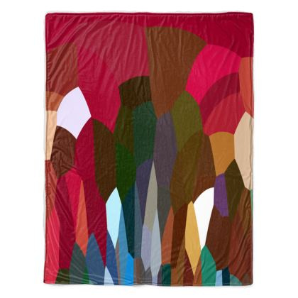Throw Blanket by Ink Circus Designs