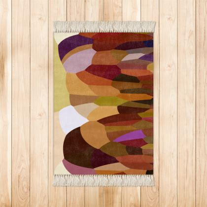 Throw Rugs by Ink Circus Designs