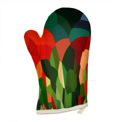 Oven Gloves by Ink Circus Designs
