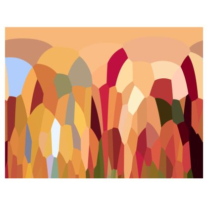 Fabric Placemats by Ink Circus Designs
