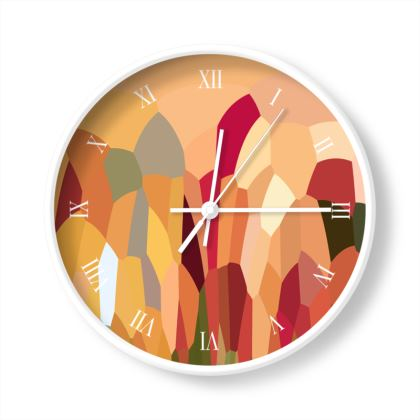 Wall Clock by Ink Circus Designs