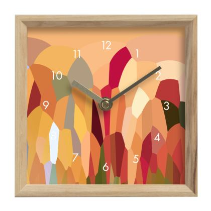 Mantle Clock by Ink Circus Designs