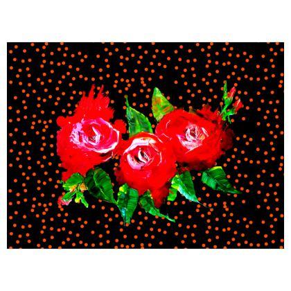 Pelari Design Cushions Stuck In A Rose Garden