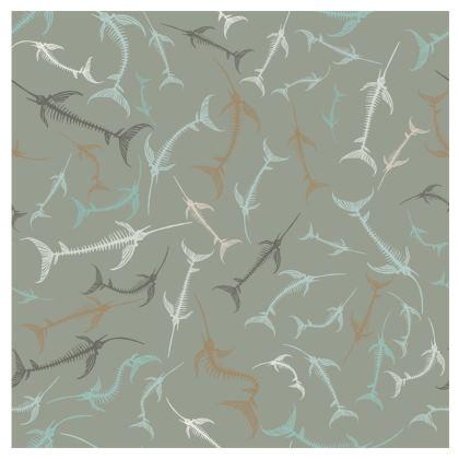 Fish Bone Collection - Sand Stone - Luxury Mens Swimming Shorts
