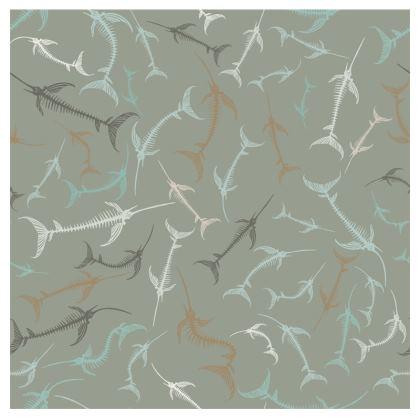 Fish Bone Collection - Sand Stone - Luxury Printed T Shirt