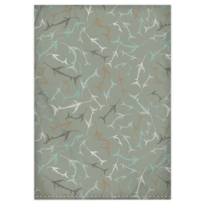 Fish Bone Collection - Sand Stone - Luxury Duvet Set