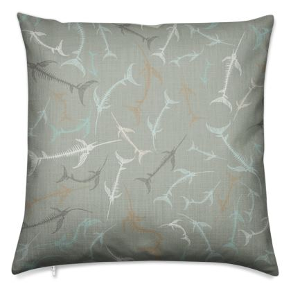 Fish Bone Collection - Sand Stone - Luxury Cushion