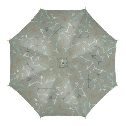 Fish Bone Collection - Sand Stone - Luxury Umbrella