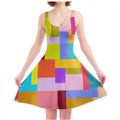 Skater Dress by Ink Circus Designs