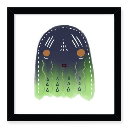 Stay Spooky Limited Edition Framed Art Print