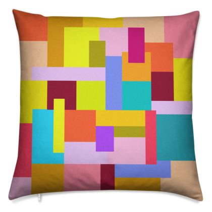 Throw Pillows by Ink Circus Designs