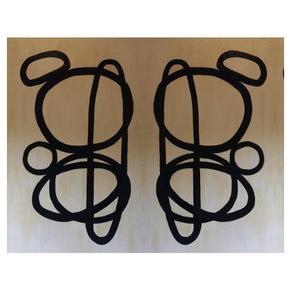Reiki stones designer handbag