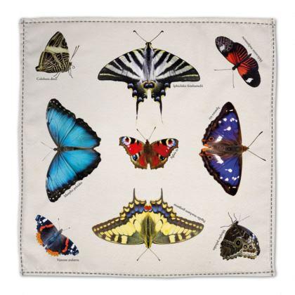 Napkins - Mirrored Butterflies