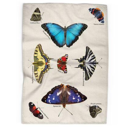 Tea Towels - Mirrored Butterflies