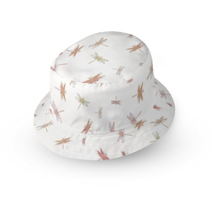 Dragonflies double sided kid's hat