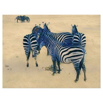 Zebra Crossbody bag with chain