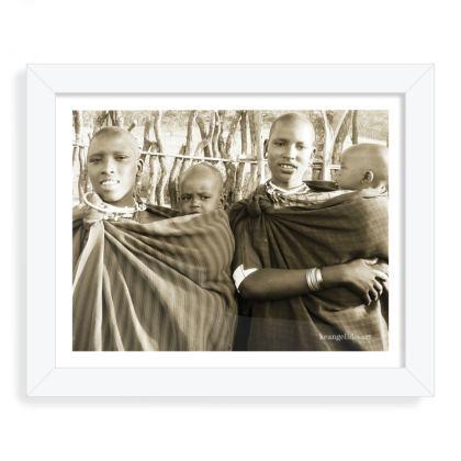 Masai Family Photo