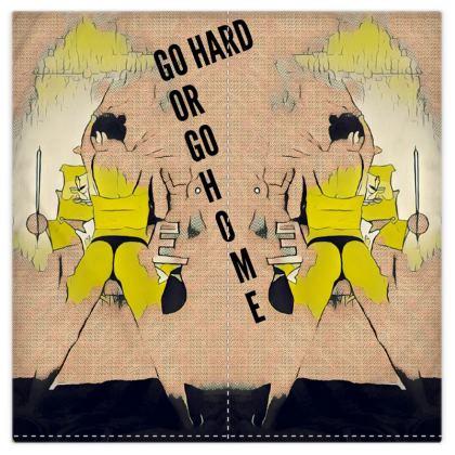 Go Hard /Go Home Duvet Cover