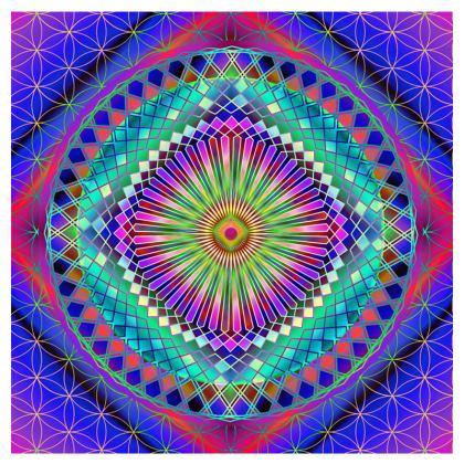 Occasional Chair Sun Mandala