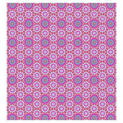 Ladies T Shirt Pink Floral Pattern