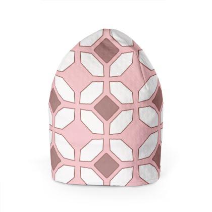 Beanie Pink Rhomboid