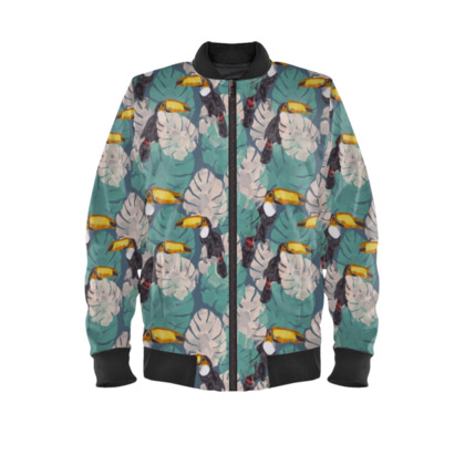 Toucan Bomber Jacket