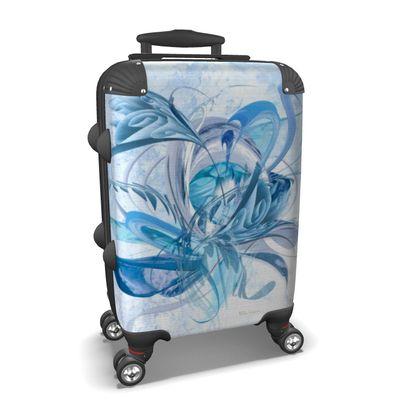 Suitcase (hand luggage) - Resväska  (handbagage) - Ice blue ice