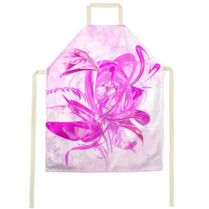 Apron-  Förkläde - Pink Ice Pink