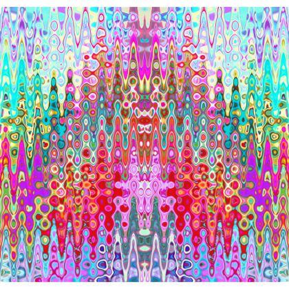 Kimono Jacket Vintage Splashed Pattern