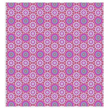 Kimono Jacket Pink Floral Pattern