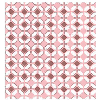 Kimono Jacket Pink Rhomboids