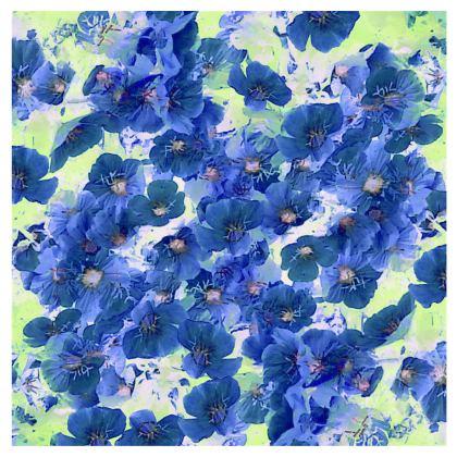 Kimono Jacket Blue Prim Roses