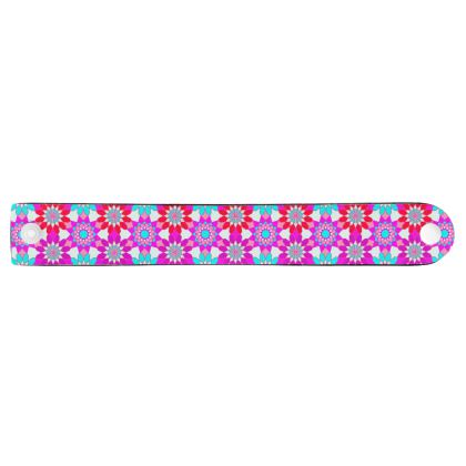 Neoprene Wristband Floral Pattern
