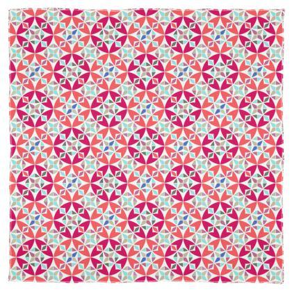 Scarf Wrap Or Shawl Arabesque Pattern