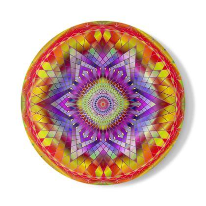 Decorative Plate Snowflake