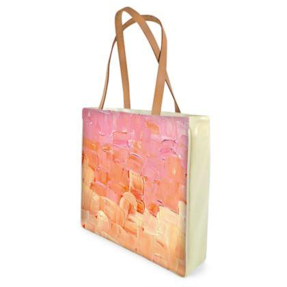 Beach Bag - Signature Basket Weave Large Design