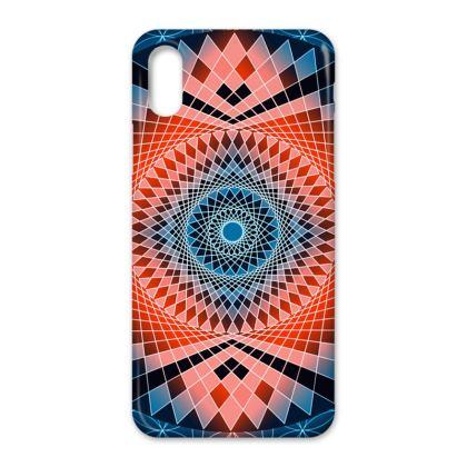IPhone Cases Blue Red Mandala