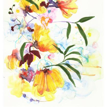 Sunshine Bouquet Handbag