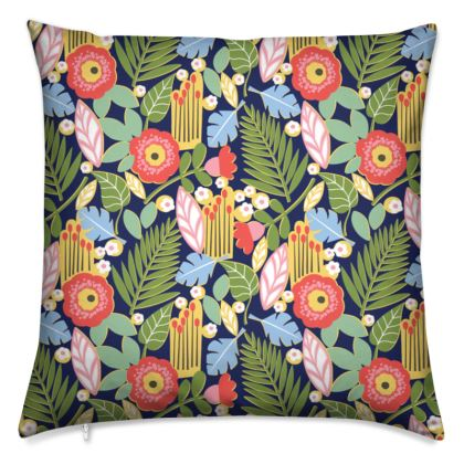 Paradise House Tropical Floral Cushions