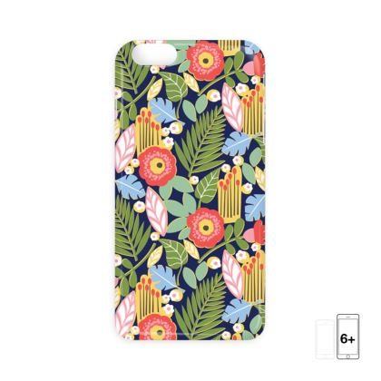 Paradise House Tropical Floral iPhone 6 Case