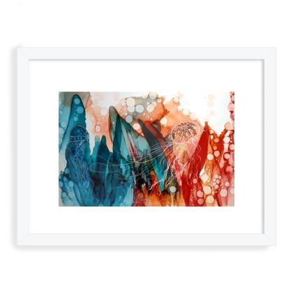 Ornate Seabed Print