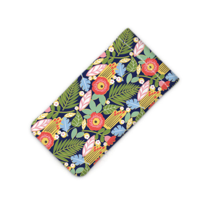 Paradise House Tropical Floral iPhone Slip Case