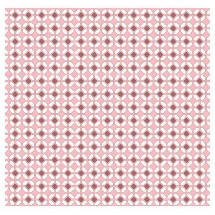 All Over Print T Shirt Pink Rhomboids