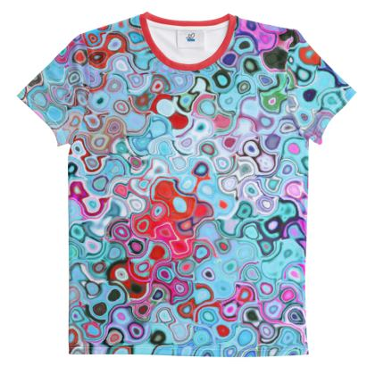 All Over Print T Shirt Splashes