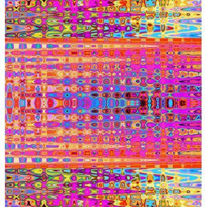 All Over Print T Shirt Horizontal Orange
