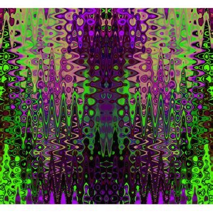 All Over Print T Shirt Dark Purple