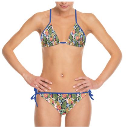 Paradise House Tropical Floral Bikini